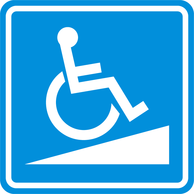 ramp access icon